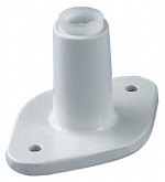 VISIONLUXO - C-Fastener light grey - Metal screw-on bracket, WL13651