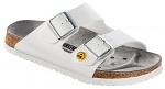 BIRKENSTOCK - 089410-35 - ESD Sandals ARIZONA white 35, leather insole, normal, WL29976
