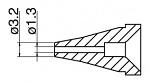 HAKKO - N60-03 - Desoldering nozzle for FR-400, 1,3 / 3,2 mm, WL44021