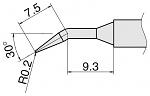 HAKKO - T15-JL02 - Soldering tip for FM2027 and FM2028, D 0.2 mm, short form angled, WL25954