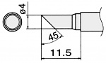 HAKKO - T15-CF4 - Soldering tip for FM2027 and FM2028, 4 mm, WL22953