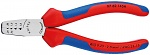 KNIPEX - 97 62 145 A - Crimping pliers for wire end ferrules 145 mm, WL36893