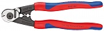 KNIPEX - 95 62 190 - Wire rope shears forged, WL36213