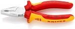 KNIPEX - 01 06 190 - Combination pliers, chrome vanadium, WL41279
