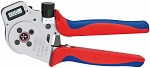KNIPEX - 97 52 65 DG - Four mandrel crimping pliers, for turned contacts 0.14 - 6.0 mm², WL27027