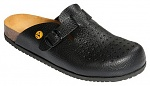 WARMBIER - 2550.80550.37 - ESD Clogs Ladies/Men, black, size 37, Loraflex, WL33825