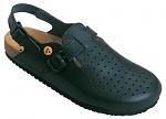 WARMBIER - 2550.79353.35 - ESD Clogs Ladies/Men Elektra, heel strap, blue, size 35, WL33628