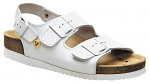 WARMBIER - 2550.79150.1.35 - ESD Sandals Ladies Elektra, wedge heel, heel strap, white, size 35, WL33736