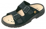 WARMBIER - 2550.2032.37 - ESD Mule Ladies/Men Elektra, black, nubuck leather, size 37, WL31214