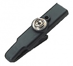 WARMBIER - 2280.774.10 - Crocodile clip (large) insulated, 10 mm push-button, banana plug socket, WL14034