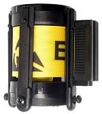 WARMBIER - 1801.G.K.36.E - Gurtbandkassette, beidseitiger schwarzer Aufdruck - nur englisch, 3,6 m, WL36769