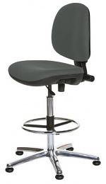 WARMBIER - 1710.ES.D - ESD Chair ECONOMY Chair, high chair, grey, WL31919