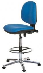 WARMBIER - 1710.ES.B - ESD Chair ECONOMY Chair, high chair, blue, WL31918