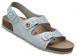 VITAFORM - 3620/WEISS/49 - ESD Sandals Full Cow Leather / Heel Strap, white, 49, WL34976