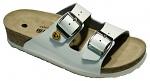 VITAFORM - 3570/WEISS/36 - ESD Pantolette Vollrindleder/Absatzhöhe 3 cm weiß, 36, WL10139