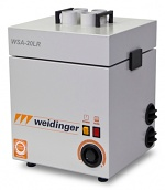WEID 0160.1-MD.13.20.6022 - Solder fume extraction unit, 4 suction nozzles, 180 m³/h at 2,700 Pa, WL37326