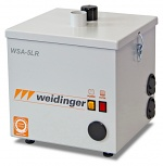 WEID 0160.1-MD.11.02.6023 - Solder fume extraction unit, 2 suction nozzles 80 m3/h at 1900 Pa, WL37325