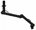 ALSIDENT - 100-6555-3-6 - ESD suction arm system DN100 3 joints, 1370 mm, black - ceiling mounting, WL35114