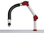ALSIDENT - 50-3721-1-23-4 - Suction arm System 50 Flex 2 joints, 900 mm, red - Table mounting, WL22622