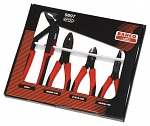 BAHCO - 9897 - Pliers set, 4 pcs, ergo (contains 8224, 2628G, 2101G, 2430G), WL17871