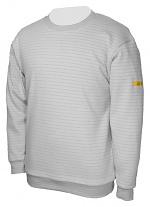 HB SCHUTZBEKLEIDUNG - 08014 86019 000 50 - ESD Sweatshirt rundhals, grau 300 g/m², S, WL34369