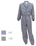 HB SCHUTZBEKLEIDUNG - Habetex Climatic OV-HB - Cleanroom overall ligth blue 42/44, WL33342