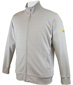 HB SCHUTZBEKLEIDUNG - 08014 86012 001 50 - ESD Sweatjacke mit Zip, grau 300 g/m², XS, WL28275
