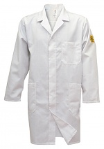 HB SCHUTZBEKLEIDUNG - 08001 48000 000 10 - ESD work coat NAPTEX, long sleeve, men, white, XS, WL20110