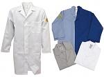 HB SCHUTZBEKLEIDUNG - 08001 48000 000 471 - ESD work coat NAPTEX, long sleeve, men, blue, XS, WL20124
