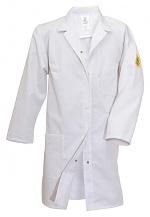 HB SCHUTZBEKLEIDUNG - 08001 48005 000 10 - ESD work coat NAPTEX, long sleeve, ladies, white, XS, WL20117