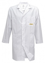 HB SCHUTZBEKLEIDUNG - 08007 48011 012 10 - ESD work coat POWERTEX, long sleeve, men, white, XS, WL29956