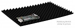 HANS KOLB - 17-40-NS el - Napped foam, black for CSC - 550x361x20mm, WL31666