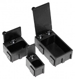 C-189 1628 - SMD small parts container, 16x28x19 mm, black, WL10510