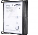 WARMBIER - 5600.150.M - Wall bracket magnetic TARIFOLD IDP-STAT, with 10 swivel panels, WL42925