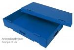 WARMBIER - 5510.SB.43 - ESD hooded cover SAFESHIELD, 400 x 300 x 30 mm, WL40759