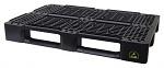 WARMBIER - 5395.800 - ESD pallet, black, conductive, 1200x800x150 mm, WL43514