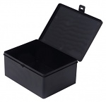 WARMBIER - 5351.1814.080 - Box with hinged lid, carbon, 178x133x78 mm, WL44051