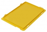 WARMBIER - 5311.Y.32.S - ESD IDP-STAT® hinged lid, conductive, yellow, 300x200 mm, WL42724
