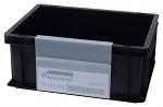 WARMBIER - 5221.IDP.700 - Etikettenhalter IDP-STAT® PVC, zum Einhängen, 158x210x0,7mm, WL41774