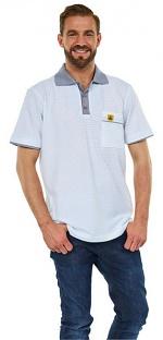 WARMBIER - 2623.P.XS - ESD Polo-Shirt short sleeve, white, unisex, XS, WL44238