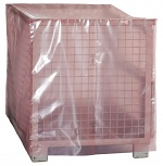 WARMBIER - 3113.1250.0900 - ESD PERMASTAT side gusseted bag, pink, 1250 x 850 x 900 x 0.15 mm, WL29954