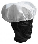 WARMBIER - 8761.H.B - ESD reusable hood, white, one size fits all, WL32097