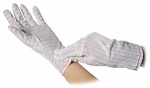 WARMBIER - 8745.PU5.M - ESD glove polyester without coating, PU = 10 pairs, M, WL32099