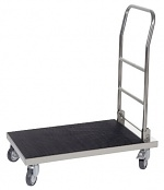 WARMBIER - 5390.KW - ESD transport trolley, 1 floor with covering, 825x520x950 mm, WL29041