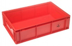 WARMBIER - 5311.R.24 - ESD IDP-STAT Storage container, conductive, red, 600 x 400 x 120 mm, WL23920