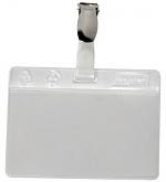 WARMBIER - 5221.3.IDP - ESD ID card pocket IDP-STAT, clip closure, transparent, WL26331