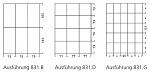 WARMBIER - 5150.831.B - Schubladeneinteilung für 5150.831, 6 Fächer, dauerhaft leitfähig, WL20918