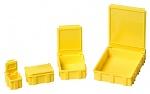 WARMBIER - 5101.Y.873 - SMD-Klappbox, mit gelbem Deckel, 16x12x15 mm, WL27286