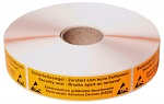 WARMBIER - 2850.SEC - Sealing adhesive tape with tear effect, WL33939