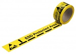 WARMBIER - 2822.1.5025 - Floor marking tape ESD Protected Area, PVC film, 50 mm x 25 m roll, WL24253